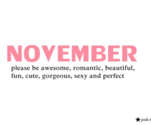 november, cute, and beautiful image