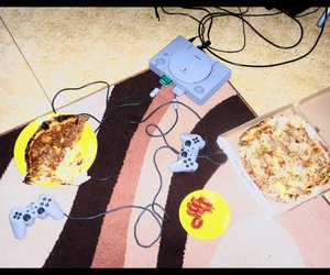 food, playstation, and game image
