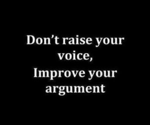 quote, argument, and voice image