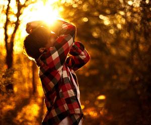 boy and sun image