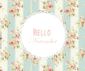 hello and november image