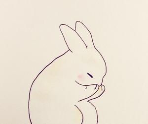 bunny, maple, and cute image