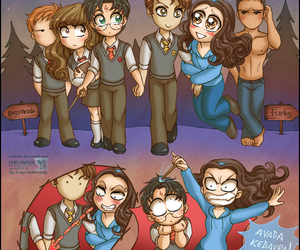 harry potter and twilight image
