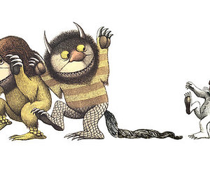 where the wild things are and maurice sendak image