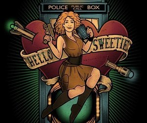 doctor who, river song, and hello sweetie image