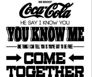 the beatles and come together image