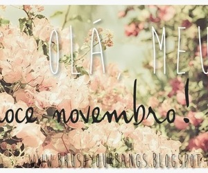 flowers, november, and sweet image