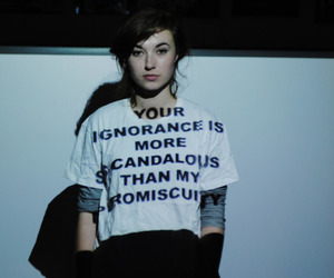 quote, girl, and ignorance image