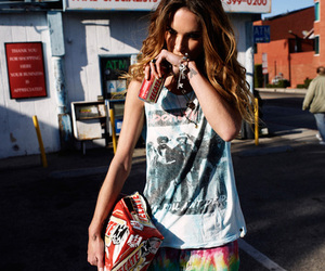 Erin Wasson, hair, and model image