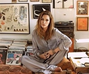 Erin Wasson, model, and morning image