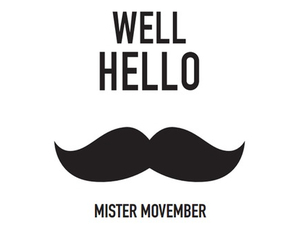 november, quote, and moustache image