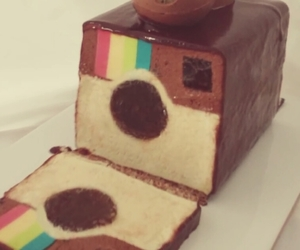 cake, instagram, and food image
