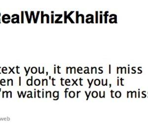 love, tweet, and wiz khalifa image