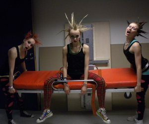 converse, girls, and Mohawk image