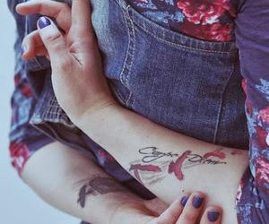 tattoo, girl, and carpe diem image