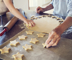 stars, Cookies, and baking image