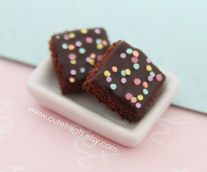 polymer clay brownies image