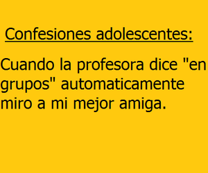 frases en español, quotes spanish, and confesiones adolescentes image