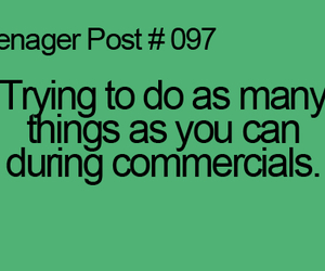 tv, commercials, and teenager post image