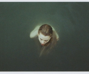 alone, drowning, and naked image