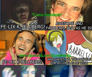 funny and pewdiepie image