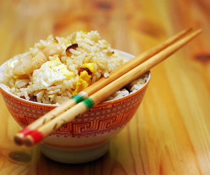 food, rice, and fried rice image