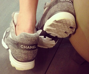 chanel, high fashion, and shoes image
