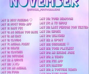 challenge, november, and photo image