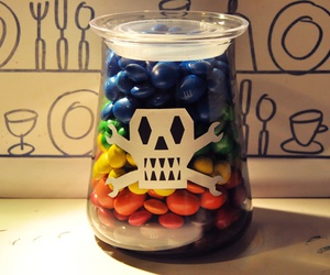 candy, m&m, and gift image