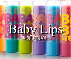 quotes, baby lips, and girly image