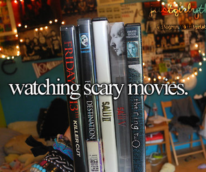 movies, scary, and scary movies image