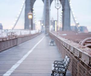 bridge, cool, and new york image