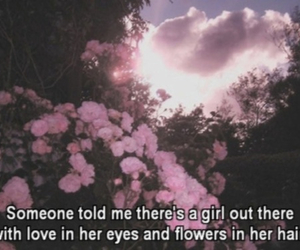 flowers, love, and quote image