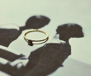 love, marriage, and ring image
