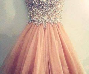 clothes, dress, and Prom image