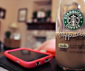 coffee, phone, and relax image