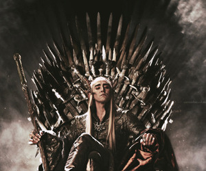 thranduil, hobbit, and game of thrones image