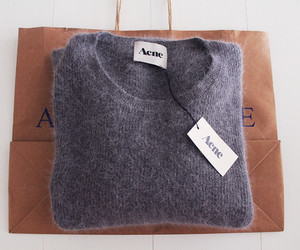 acne, fashion, and sweater image