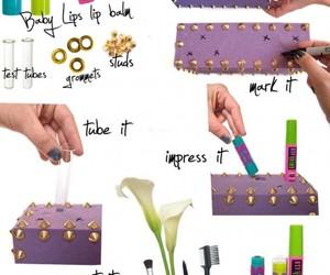 diy, makeup, and box image