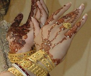 accessories, design, and henna image