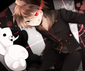 anime, monokuma, and danganronpa image