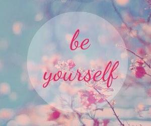 yourself, flowers, and be image