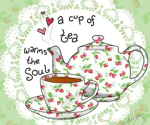 tea and quote image