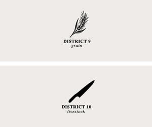 district, livre, and hunger game image
