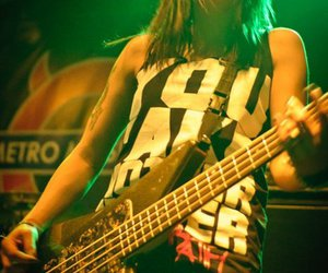 bassist, concert, and gig image