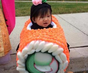 sushi, cute, and baby image