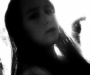 black & white, goth, and rambo13 image