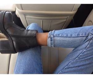 boots, jeans, and ottd image