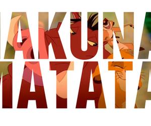 hakuna matata, disney, and pumba image