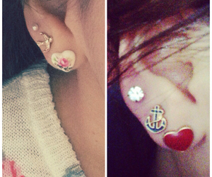 earings, fashion, and forever21 image